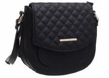 Bessie London 'BL3939' Ladies Handbag (Black)