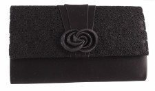Barino 'BG280' Ladies Clutch Bag (Black)