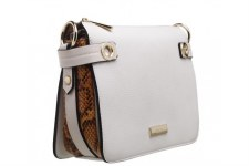 Bessie London 'BL4229' Ladies Handbag (White)
