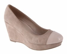 Susst 'Bowie' Ladies Wedges (Beige)
