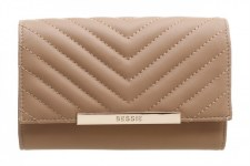 Bessie London 'BP1251' Ladies Purse (Apricot)