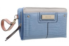 Bessie London 'BP1258' Ladies Purse (Blue)