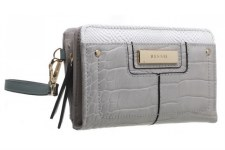 Bessie London 'BP1258' Ladies Purse (Grey)