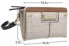 Bessie London 'BP1258' Ladies Purse (Beige)
