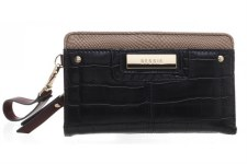 Bessie London 'BP1258' Ladies Purse (Black)