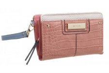 Bessie London 'BP1258' Ladies Purse (Peach)