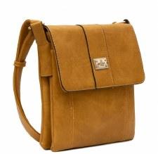 Bessie London 'BW2001' Ladies Handbag (Yellow)