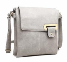 Bessie London 'BW2554' Ladies Handbag (Grey)