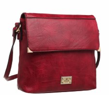 Bessie London 'BW2630' Ladies Handbag (Red)