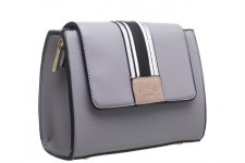 Bessie London 'BW4274' Ladies Handbag (Grey)