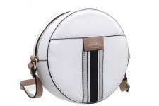 Bessie London 'BW4275' Ladies Handbag (White)