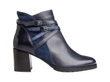 Regarde Le Ciel 'Cady' Ladies Ankle Boots (Navy)