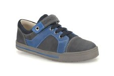 Clarks 'Beven Time' Boys Shoes (Blue)