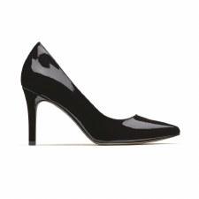 Clarks 'Dinah Keer' Ladies Heels (Black Patent)