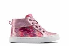 Clarks 'City Myth Toddler' Girls Boot (Light Pink)