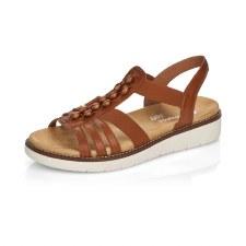 Remonte 'D2065' Ladies Sandals (Tan)