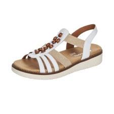 Remonte 'D2065' Ladies Sandals (White)