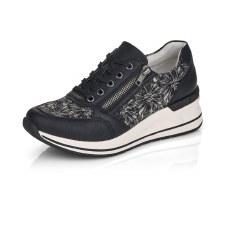 Remonte by Rieker 'D3203' Ladies Shoes (Black/Cream)