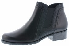 Remonte 'D6876' Ladies Ankle Boots (Black)