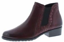 Remonte 'D6876' Ladies Ankle Boots (Bordo)
