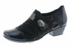 Remonte 'D7333' Ladies Shoes (Black)