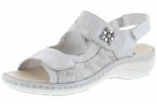 Remonte by Rieker 'D7647' Ladies Sandals (Silver Floral)