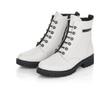 Remonte 'D8670' Ladies Ankle Boots (White)