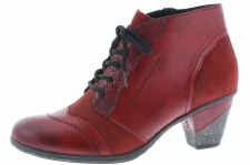 Remonte 'D8789' Ladies Ankle Boots (Red)