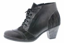 Remonte 'D8789' Ladies Ankle Boots (Black)