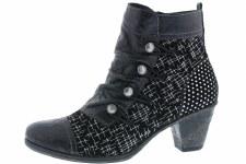 Remonte 'D8792' Ladies Ankle Boots (Black)