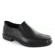 Ecco 'Helsinki' Slip-On Shoe (Black)