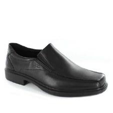 Ecco 'Helsinki' Slip-On Shoe (Black)