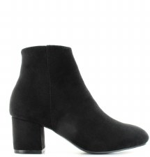 Ella 'Fran' Ladies Ankle Boots (Black)