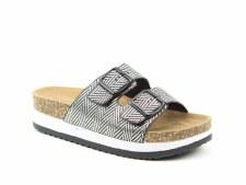 Heavenly Feet 'Kendra' Ladies Sandals (Black)