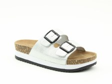 Heavenly Feet 'Kendra' Ladies Sandals (Silver)