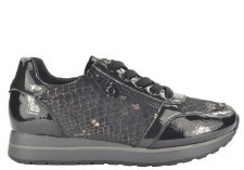 Fabs '61113' Ladies Trainers (Black)