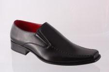 Goor '129' Mens Formal Shoe (Black)