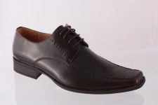 Goor '131' Mens Formal Lace-Up Shoe (Brown)