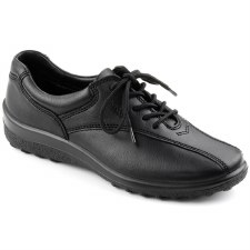 Hotter 'Tone' Sport Shoes (Black)