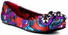 Iron Fist 'Havana' Fashion Pomp (Purple/Multi)