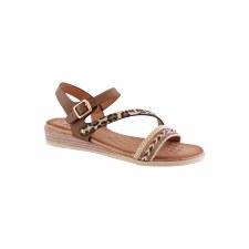 Susst 'Jolene' Ladies Sandals (Tan)
