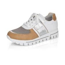 Rieker 'L2802' Ladies Shoes (White Multi)