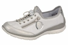 Rieker 'L3263' Ladies Shoes (Ice White)