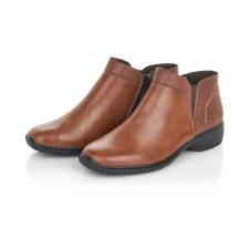 Rieker 'L3881' Ladies Ankle Boots (Tan)