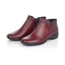 Rieker 'L3881' Ladies Ankle Boots (Wine)