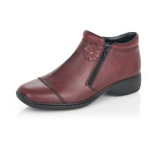 Rieker 'L3888' Ladies Ankle Boots (Bordo)