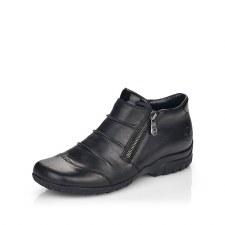 Rieker 'L4671' Ladies Ankle Boots (Black)