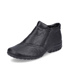 Rieker 'L46A3' Ladies Ankle Boots (Black)