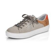Rieker 'L59A1' Ladies Sneakers (Grey)