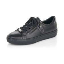 Rieker 'L59L1' Ladies Shoes (Black)